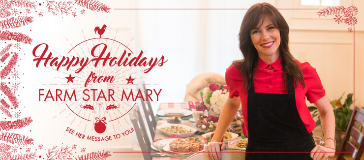 HO HO HO - Message from Farm Star Mary!