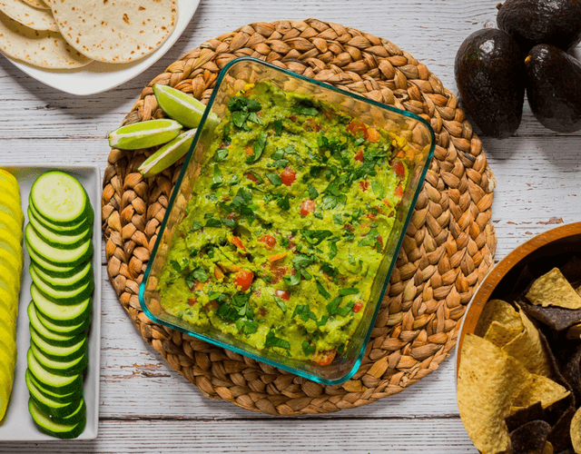 Southwest Guacamole Dip with Del Monte® Hass Avocados