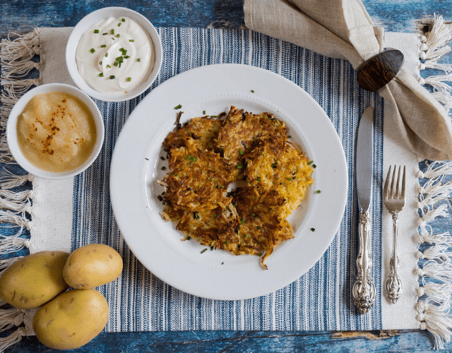 CarbSmart™ Potato Latkes