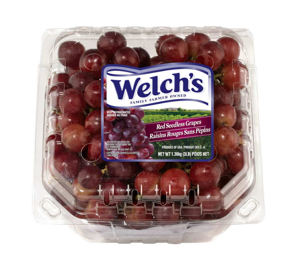 Delicious Red Seedless Grapes from Welch's