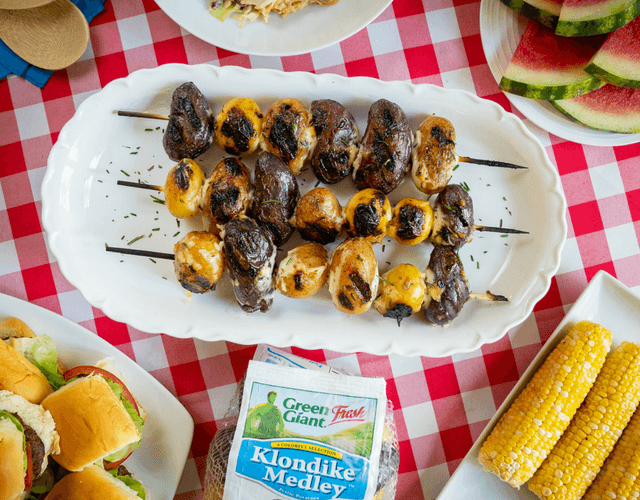 Marinated Grilled Klondike Gourmet® Medley Potatoes