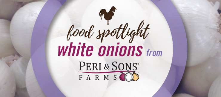 Peri & Sons Farms White Onions
