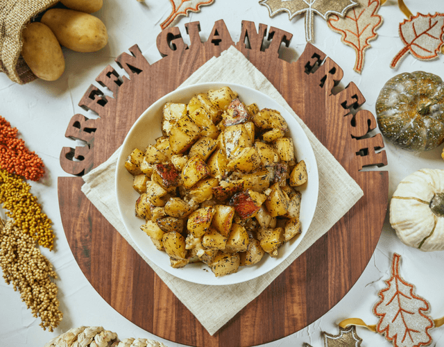 Crockpot Roasted CarbSmart™ Potatoes