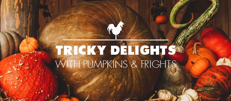 Tricky Delights with Pumpkins & Frights!