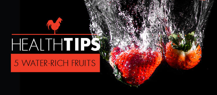Cool Off With These Five Water-Rich Fruits