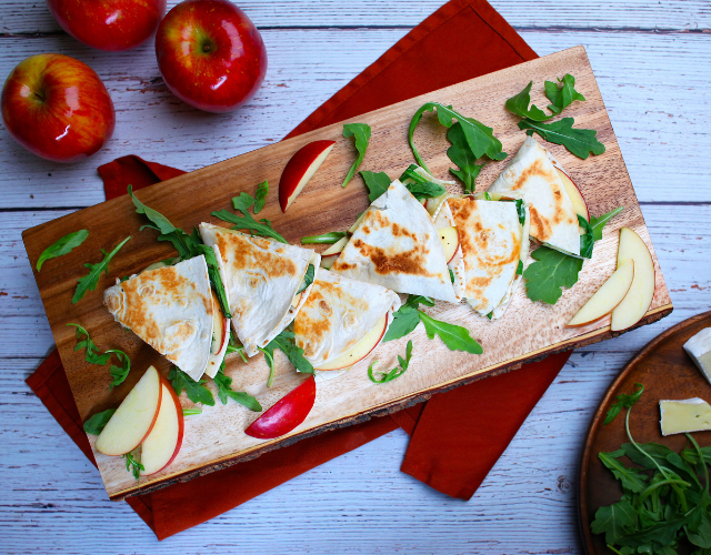 Starr Ranch® Fuji Apple & Brie Quesadillas