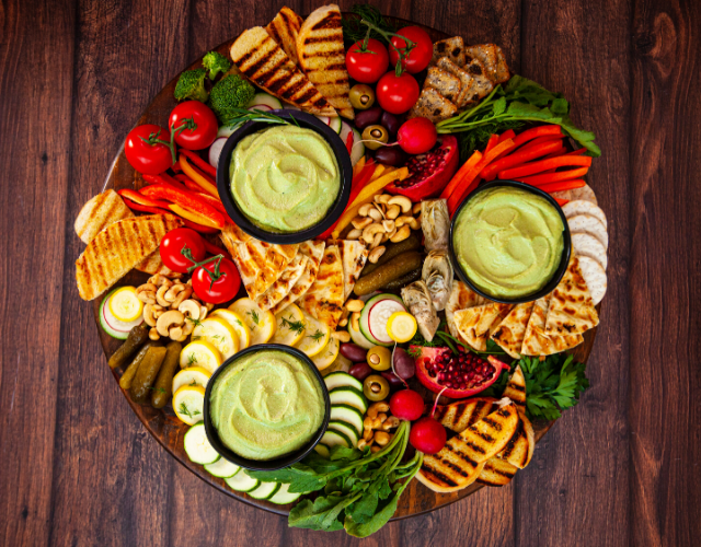 Plant-Based Spinach Herb Cashew Dip