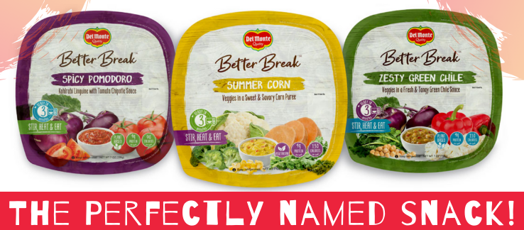 Better Break by Del Monte - The Perfectly Named Snack!