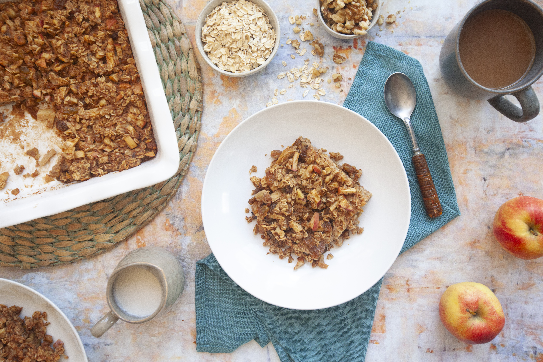 Organic Gala Apple Baked Oatmeal