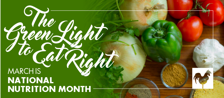 Health Tips: National Nutrition Month