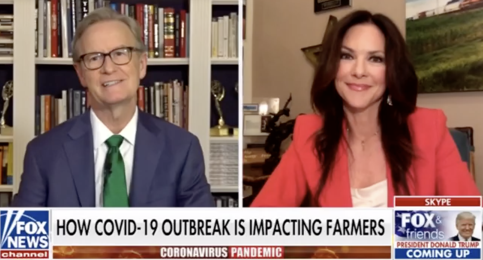 Fox & Friends: Mary Blackmon Speaks out on Covid-19 Outbreak & Farmers