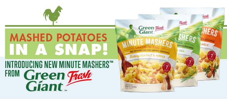 Minute Mashers™: Real Potatoes for Real People