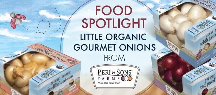NEW Little Gourmet Onions