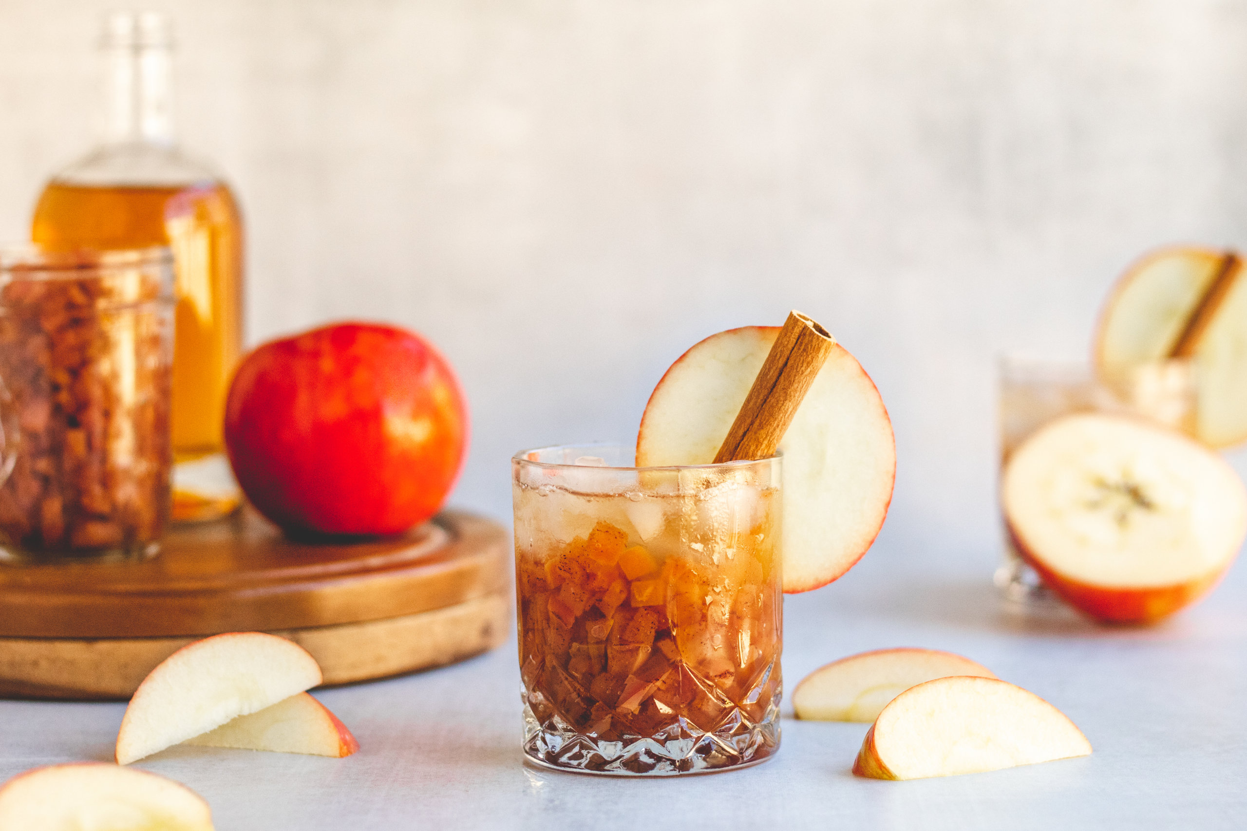 Apple Old Fashioned Cocktail