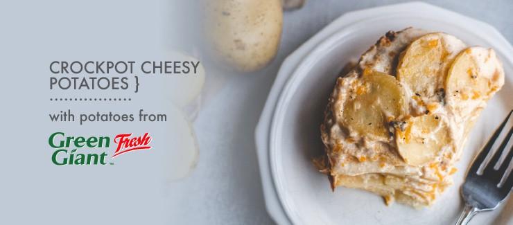 Crockpot Cheesy Potatoes