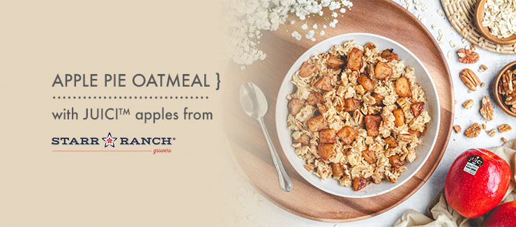 One-Pot JUICI™ Apple Pie Oatmeal