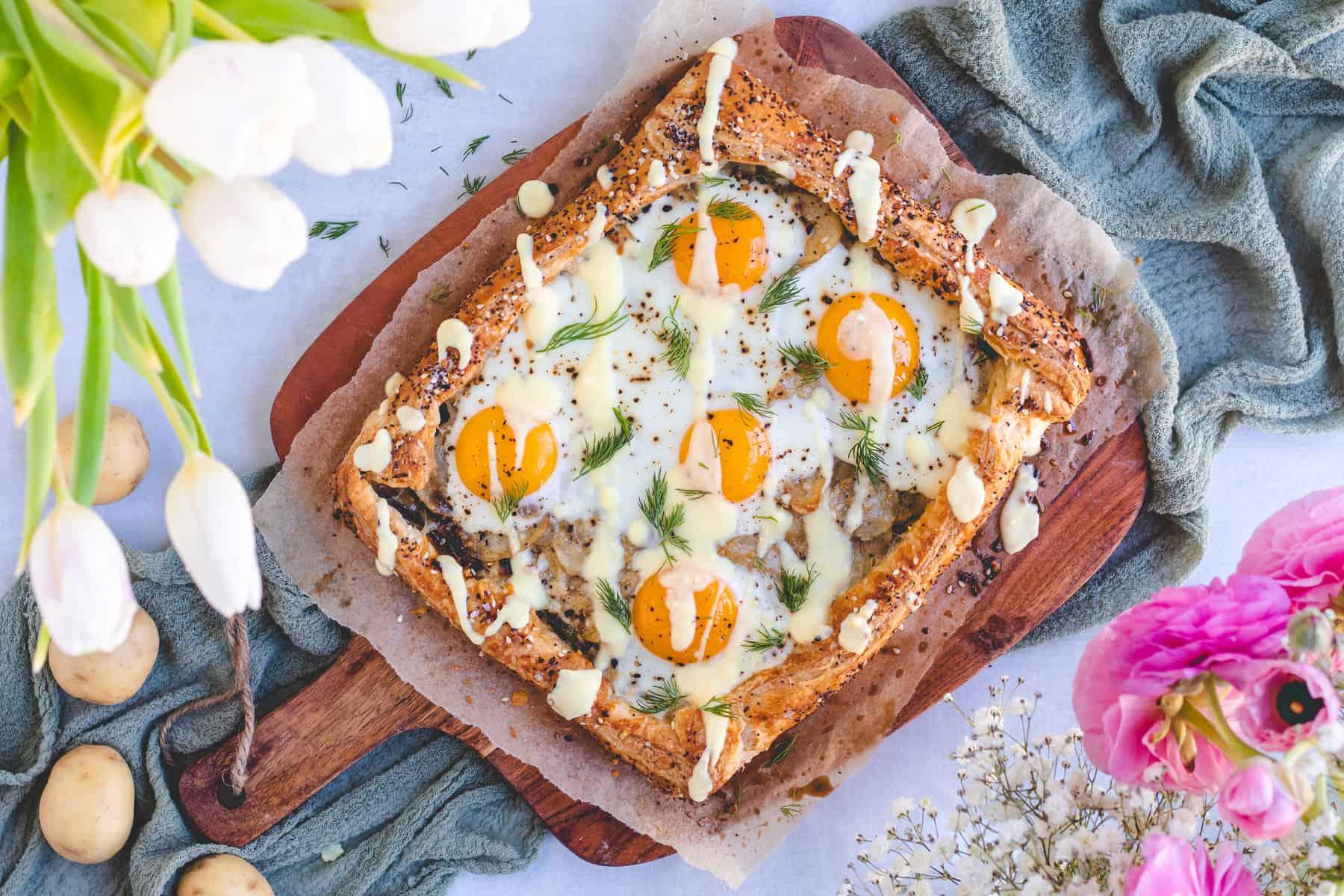 Spring Potato Galette