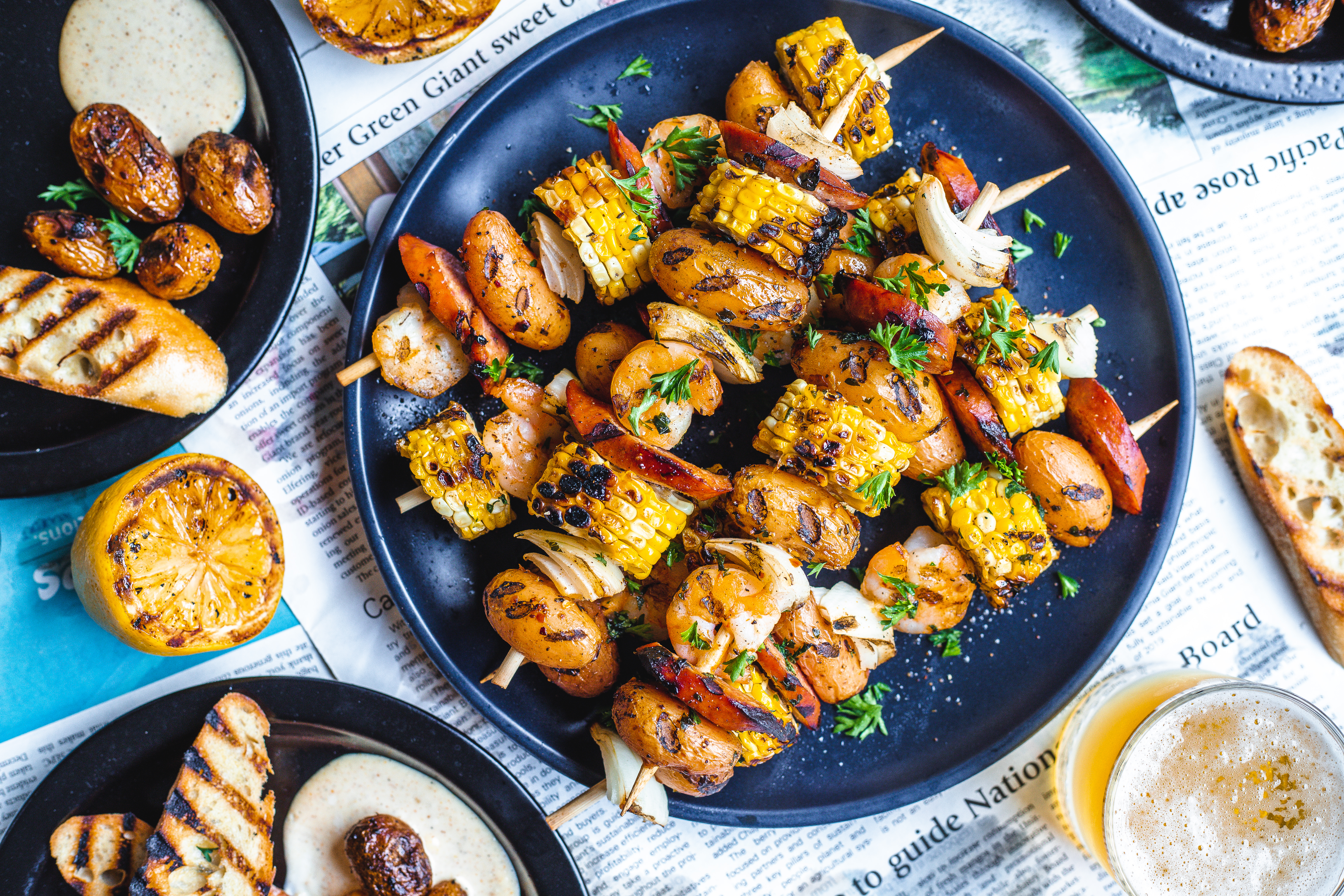 Cajun Style One Step...Done!™ Kabobs