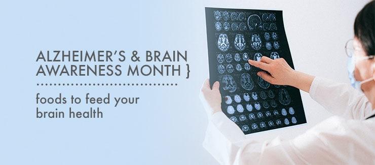 Health Tips: Alzheimer's & Brain Awareness Month