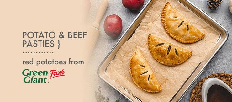 Potato & Beef Pasties