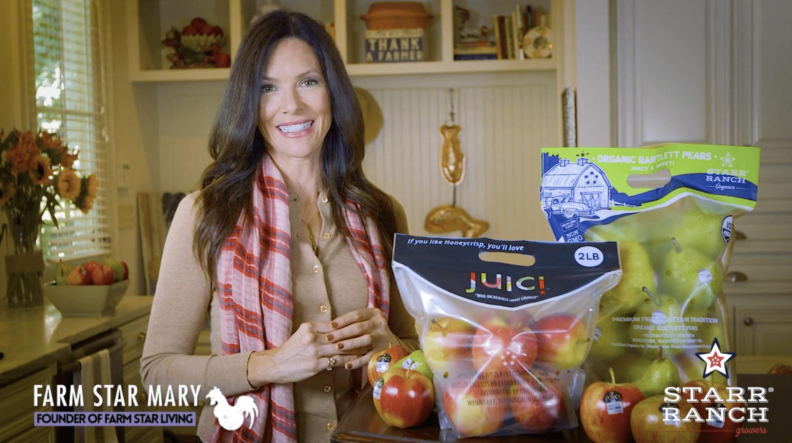 Farm Star Mary's Minutes: Bartlett Pears & JUICI® Apples